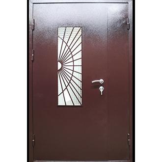 Декоративная решетка на дверь № 4