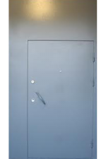 Техническая дверь с зашивкой наверху
