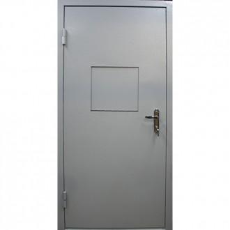 Техническая дверь с кассовым окном