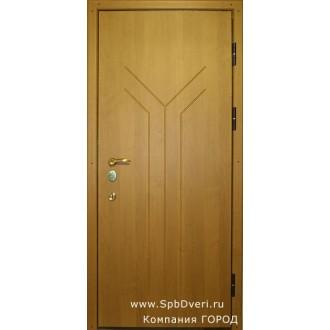 Металлическая дверь МДФ Бук