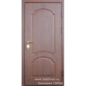 Металлическая дверь МДФ Вишня пенсильвания