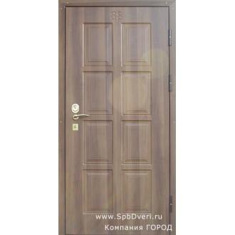 Металлическая дверь МДФ Дуб