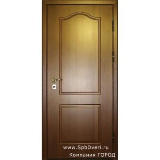 Металлическая дверь МДФ Ясень