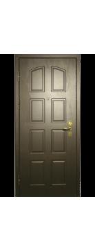 """Входная металлическая дверь """"Черное дерево"""" одностворчатая"""