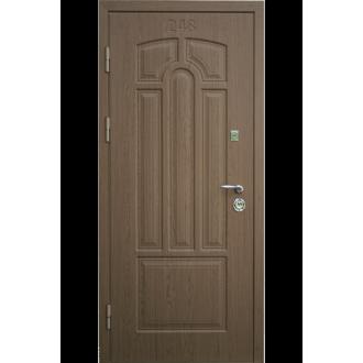 """Входная металлическая дверь """"Орех"""" одностворчатая"""