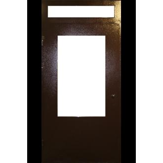 Техническая дверь с расстекловкой