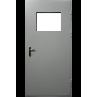 Дверь противопожарная с окном