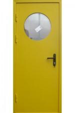 дверь противопожарная с расстекловкой