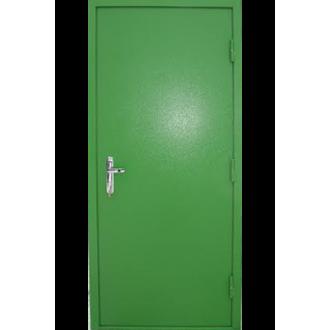 Противопожарная дверь с одной створкой