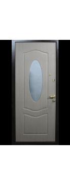 """Входная металлическая дверь """"Красное дерево"""" одностворчатая"""