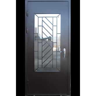 Декоративная решетка на дверь № 5