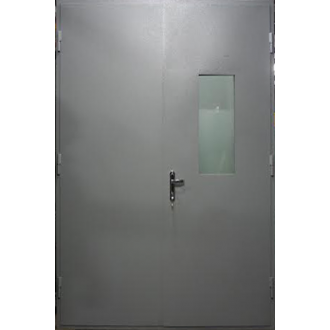 Техническая дверь со стеклом менее 25%