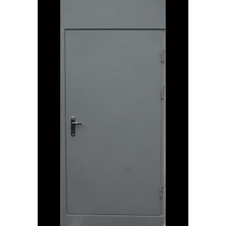 Техническая дверь с зашивкой