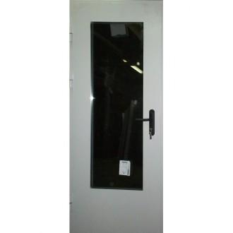 Техническая дверь с максимальным стеклопакетом